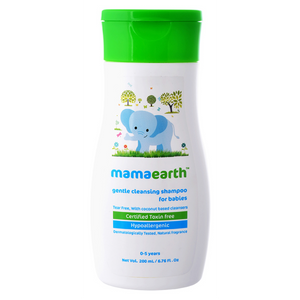 Mamaearth Gentle Cleansing Shampoo for babies (0-5 Yrs) - 200ml
