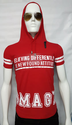 Hats off hoody-RED - ONLINECITY