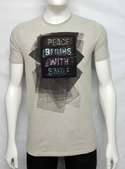 Milanche Gray Trendy Tees