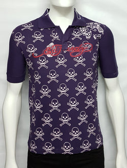 Purple Polo Trendy Tees