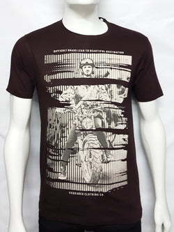 Brown Trendy Tees