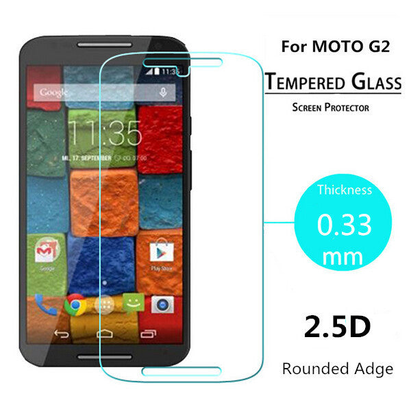 Moto G2 - pro tempered glass - ONLINECITY