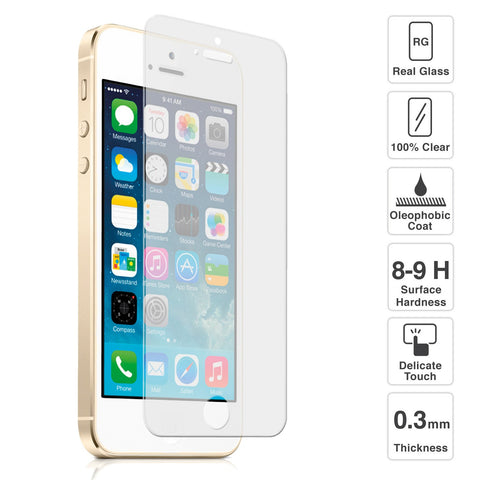 iphone 5- Pro tempered glass - ONLINECITY