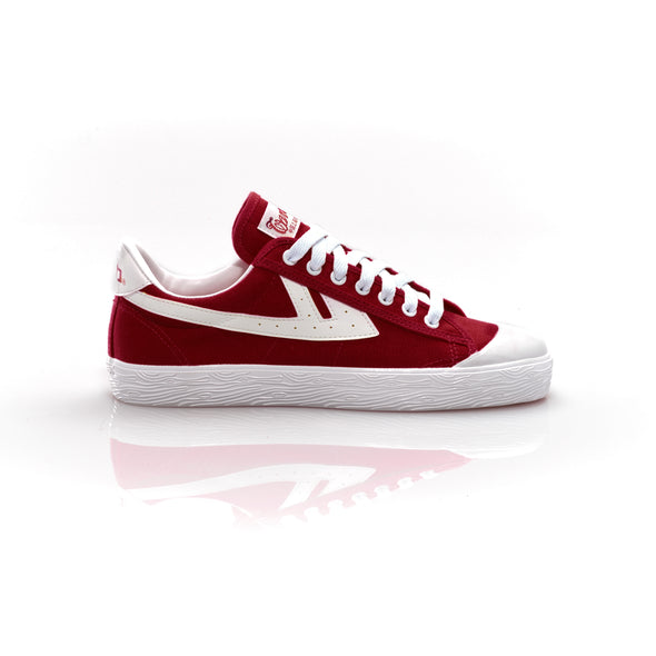 WB-1 Burgundy/White