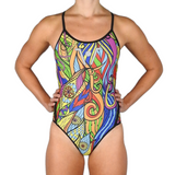 Jowe Paradise Slim Strap Girls Swimsuit