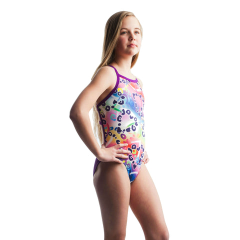 Jowe Purple Passion Crosscut Swimsuit-Swimsuit-Jowe-Girls 8-SwimPath
