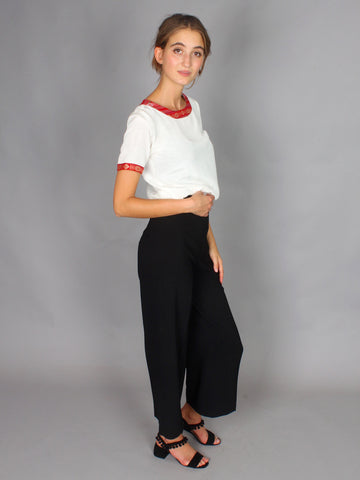 Ainou - Silk Top