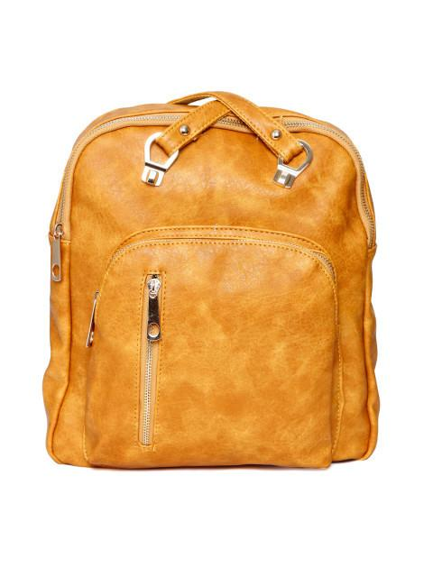 Hiveaxon Mustard Yellow Backpack
