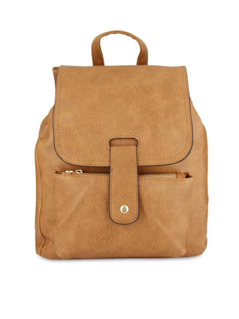 Hiveaxon Tan Brown Backpack