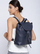 Hiveaxon Navy Backpack