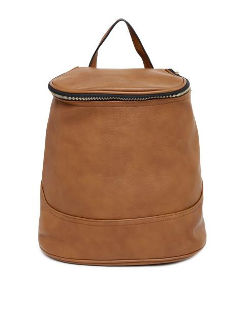 Hiveaxon Brown Backpack