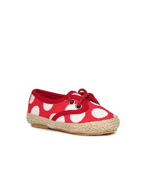 Dunsinky Red Woven Casual Shoes