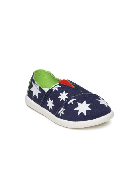 Dunsinky Navy Printed Casual Shoes