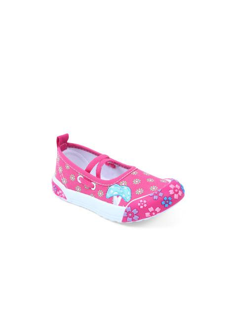Dunsinky Pink Printed Shoes
