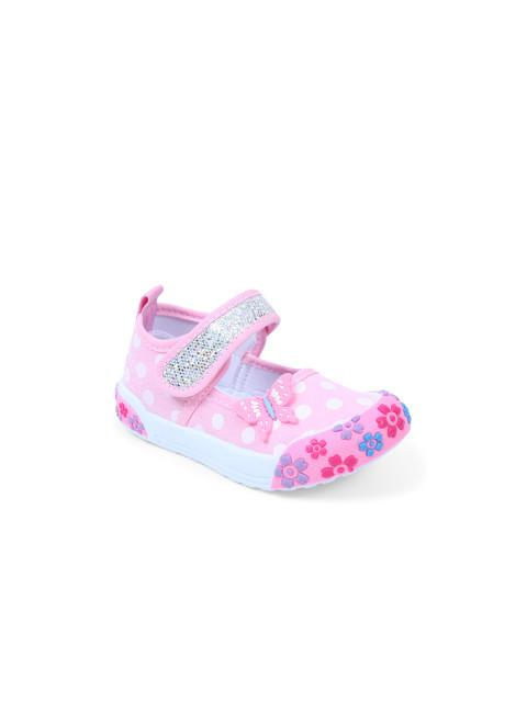 Dunsinky Pink Printed Casual Shoes