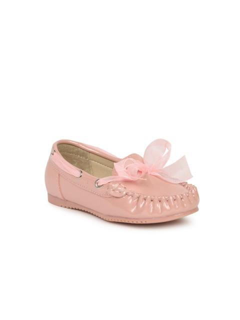Dunsinky Pink Solid Boat Shoes