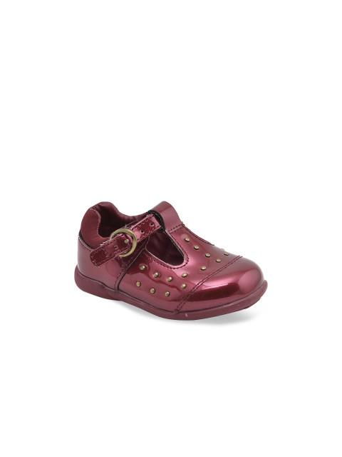 Dunsinky Maroon Casual Shoes