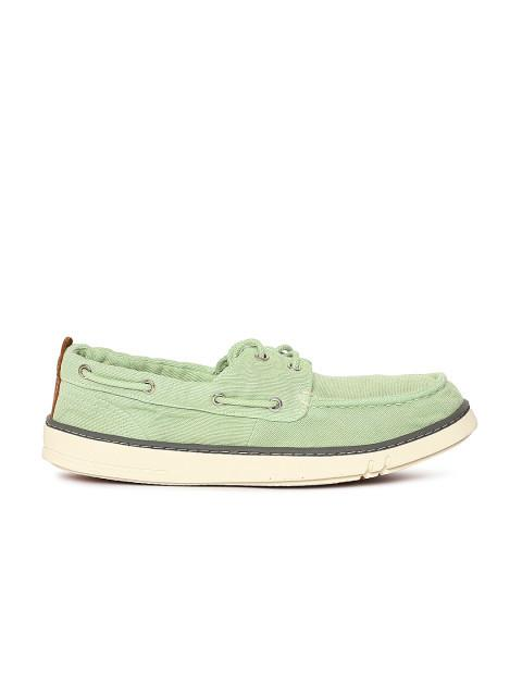 Fastalas Green Boat Shoes