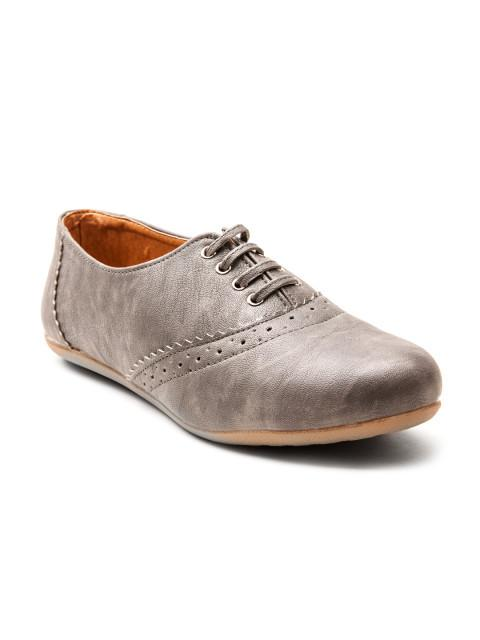Scamanus Grey Casual Shoes