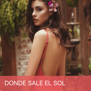 Donde Sale El Sol Swimwear brand designed in Barcelona, Spain and produced in Colombia