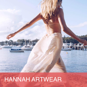 Hannah Artwear brand and designer available in Europe on The Wanderlast