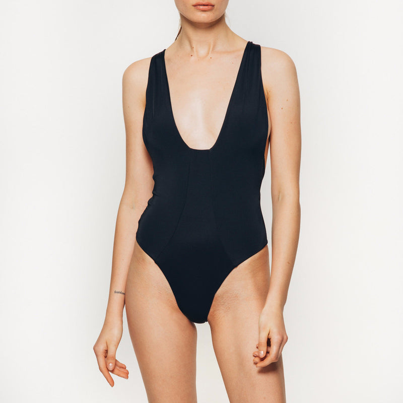 Ivy Bodysuit in black