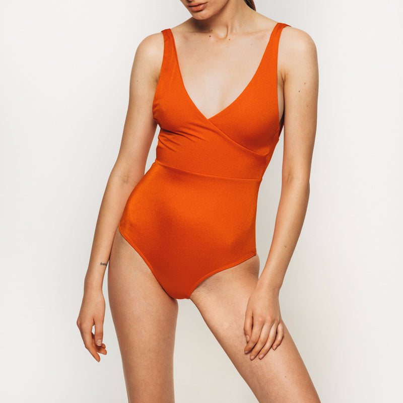 Isola Bodysuit in orange