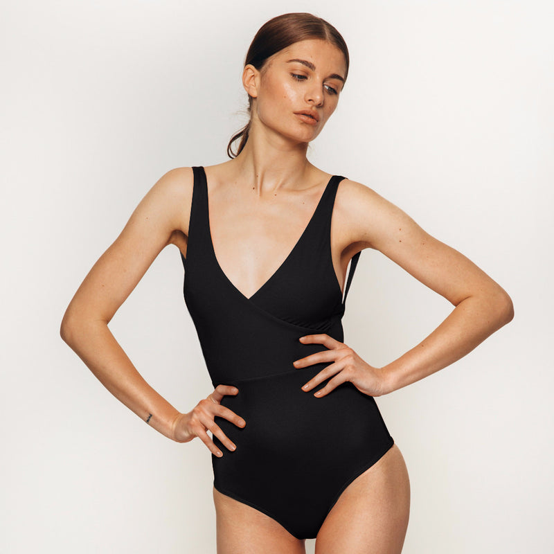 Isola bodysuit in black