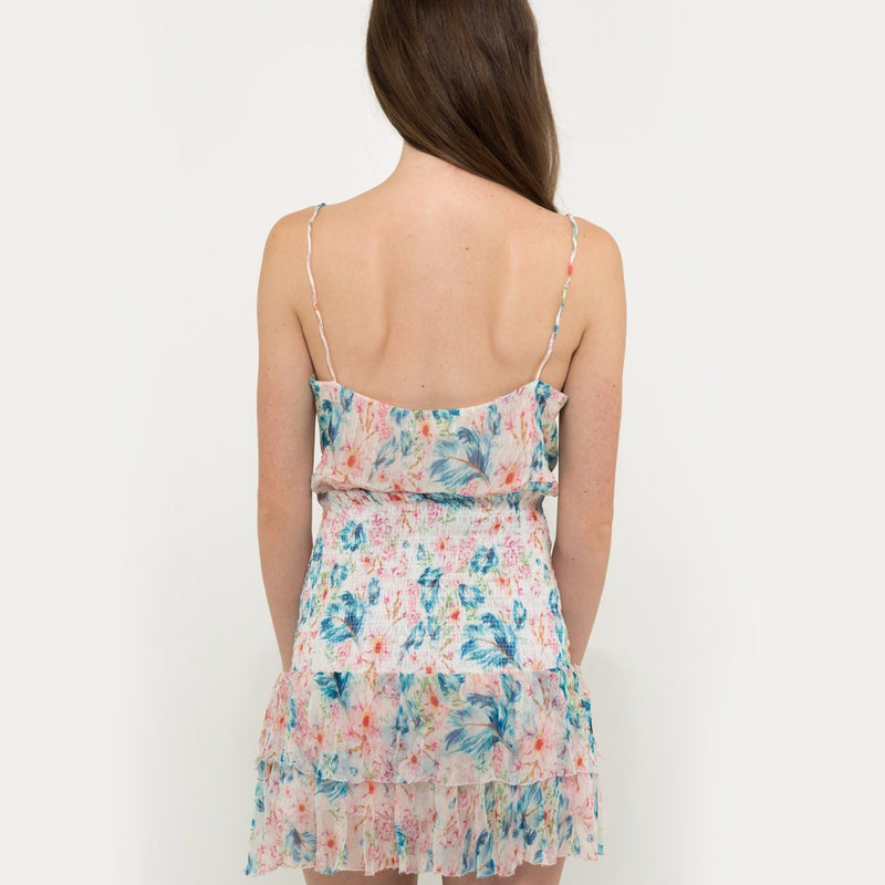 Chiffon camisole in floral