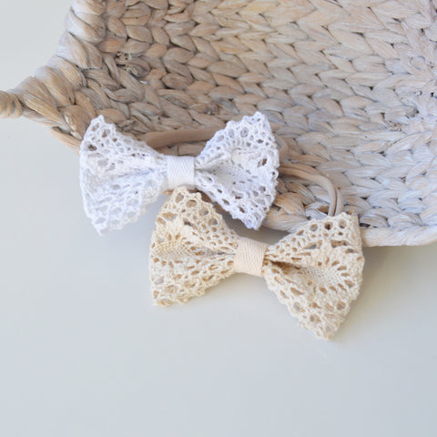 Bella Lace Bow