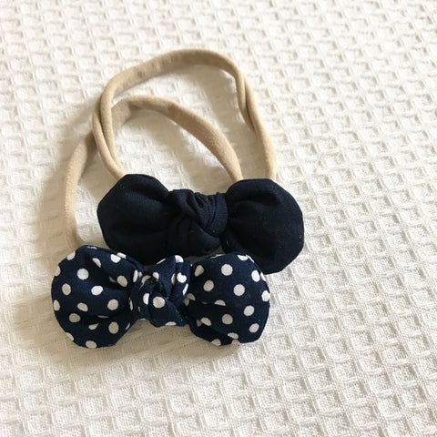 Navy Polka dot Collection