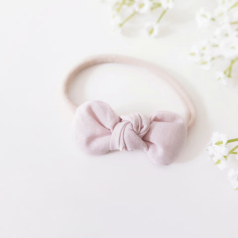 Cameo pink bow