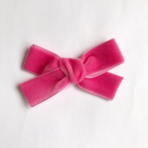 Large barbie velvet bow