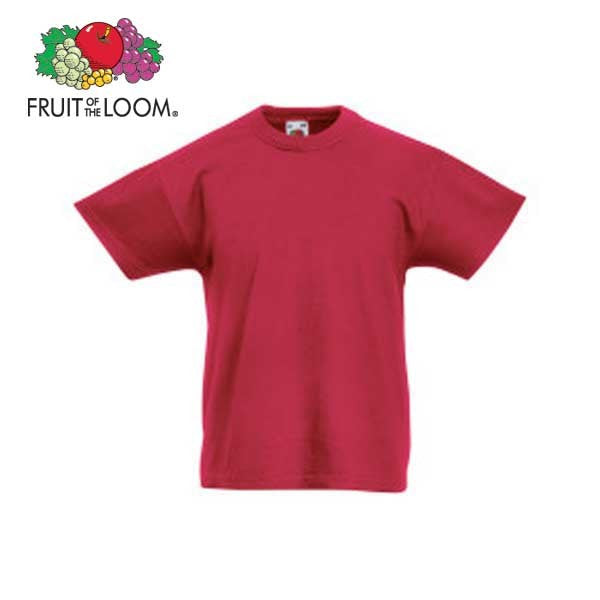Fruit Of The Loom Kids Original Tee x50