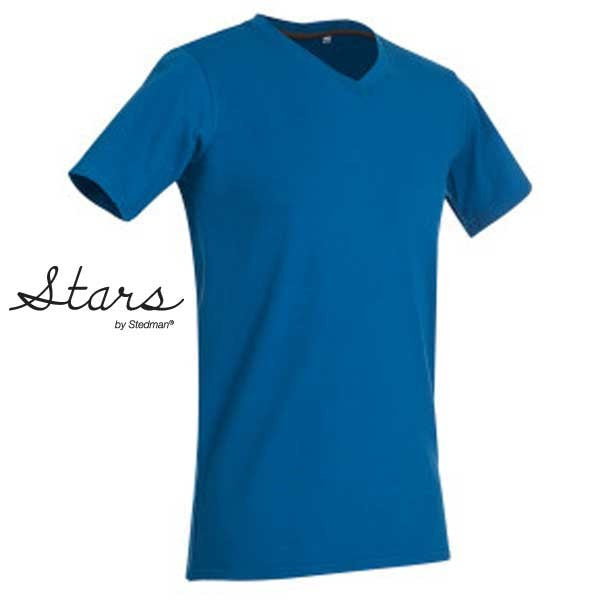 Stars By Stedman Clive Mens V Neck T-Shirt x50