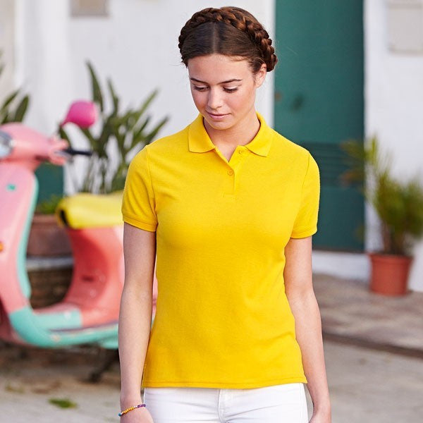 Fruit Of The Loom Lady-Fit 65/35 Pique Polo x25 Units
