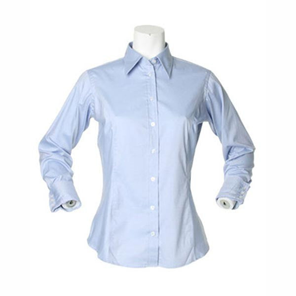 Kustom Kit Ladies Long Sleeve Corporate Oxford Shirt x10 Units
