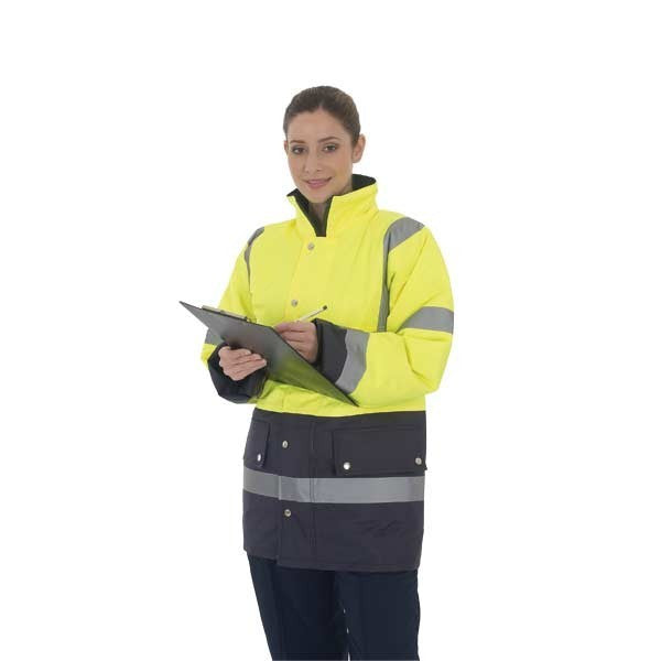 Yoko Hi-Vis Two Tone Jacket x10 Units