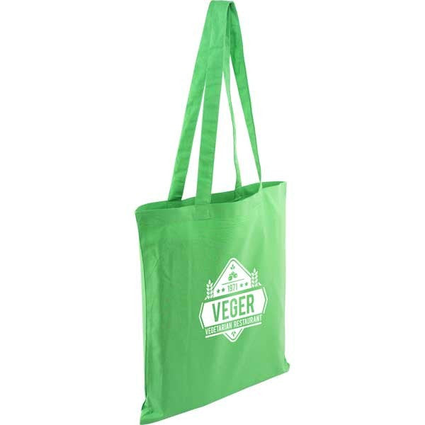 Kingsbridge Coloured 5oz Cotton Tote Bag x100 Units
