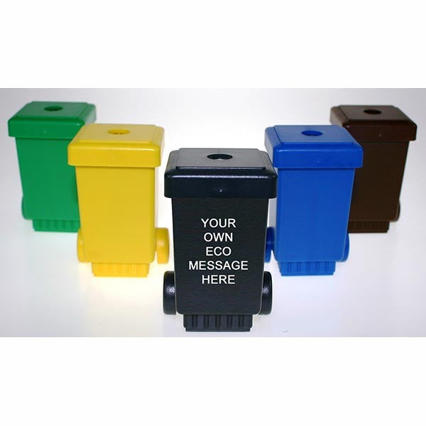 Wheelie Bin Pencil Sharpener x250 Units