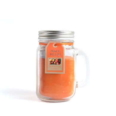 Peach Bellini Scented Candle