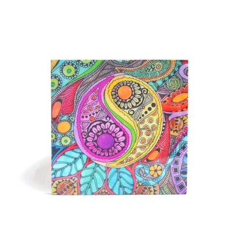 Psychedelic Drinks Coasters, Set of 4