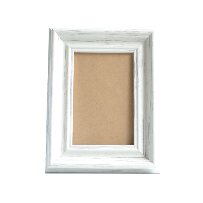 White Chic Wood Photo Frame