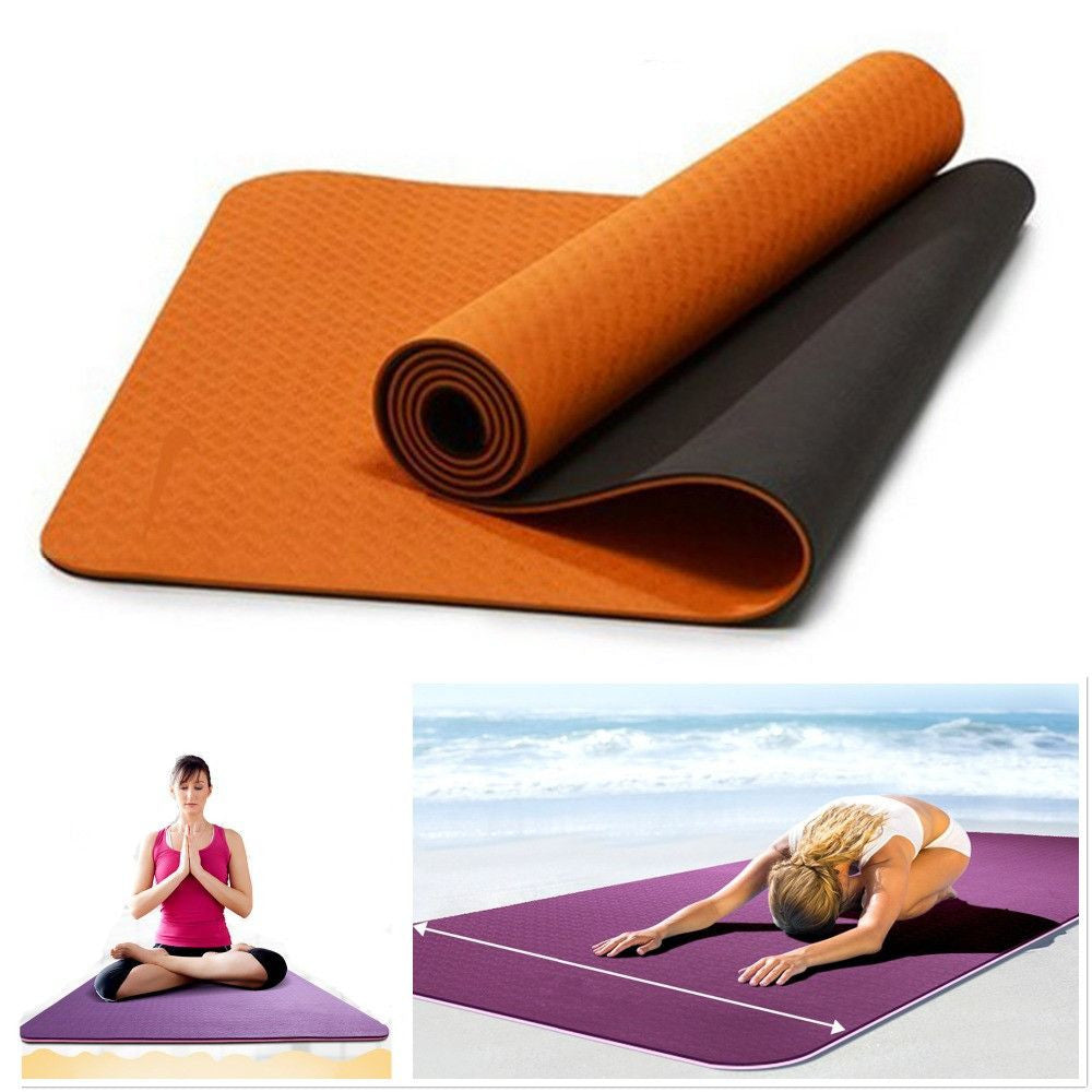 Eco Friendly TPE Non-slip Yoga Mat