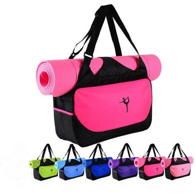 Multifunctional Yoga Shoulder Bag That Carries Your Mat