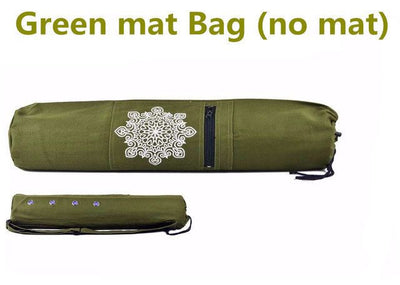 Cotton Canvas Yoga Mat Carry Bag