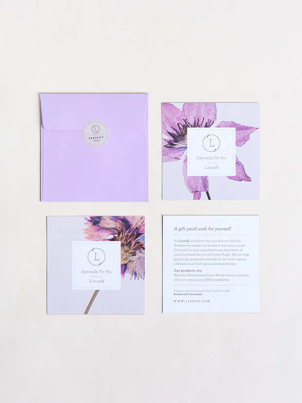 A NEW All Natural Lavender Gift Box  - bath & body products - wholesalae 1