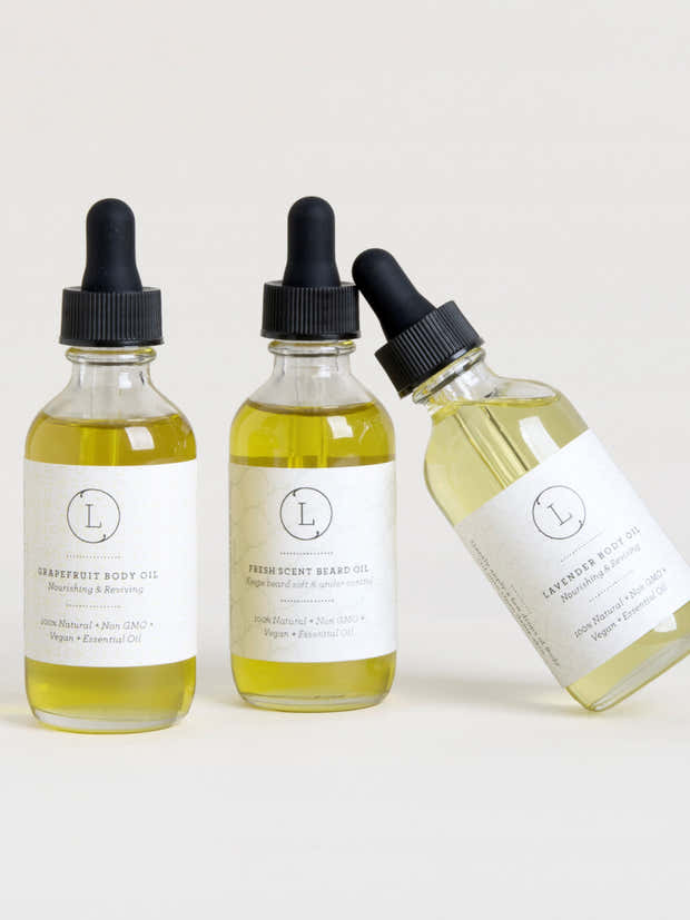 Natural Body Oil with Essential oils - Reviving Body Oil - wholesale 1