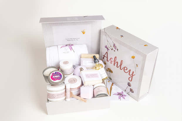A Special day gift | Happy Occasion | Birthday- All-Natural Large Gift Baskets - Lavender - Wholesale 1