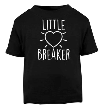 Little heartbreaker Black baby toddler Tshirt 2 years